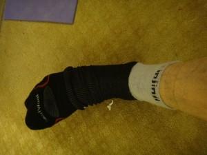 smartwool and injinji sock combo