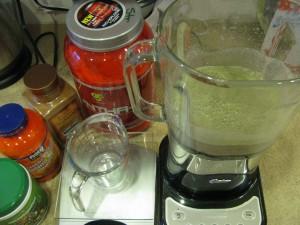 blended shake