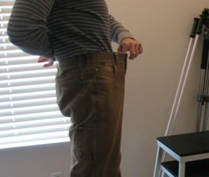 Fat Pants fit January 2010