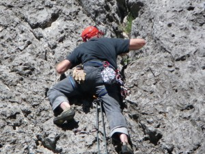 Lead Solo Climbing at Rock Canyon - The Wild