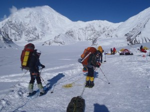weighted backpack training is a necessity for alaskan mountaineering