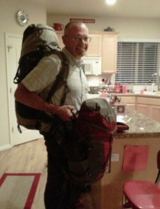 weighted backpack training can help you negotiate airport terminals