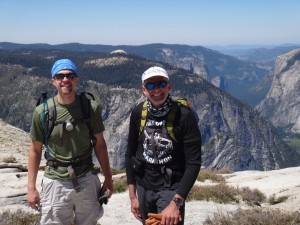 Weighted backpack training can make hikes like Half Dome seem mild