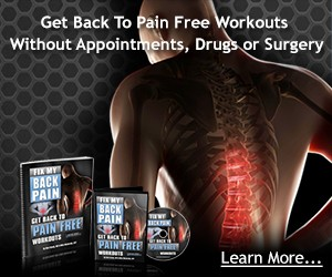 Don't let a back back ruin your training progress