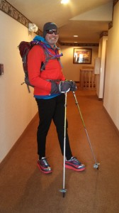 Trail Running in Winter clothing and gear