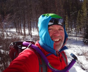 Trail Running in the Cold behind Keystone Resort