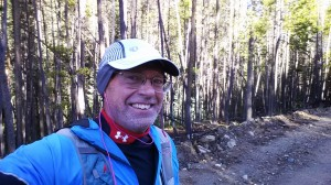 Trail run up Keystone Gulch cold morning