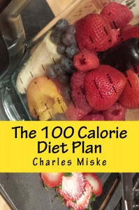 Vegetarian Differences: a blender full of fruit gracing the cover of my diet plan book