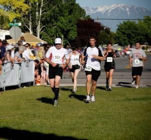 AF Canyon Half Marathon in Utah