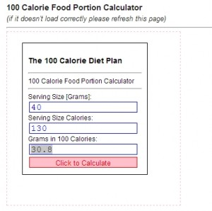 100 calories of raisins is 30.8 gm. Cut that in half to 15 gm for 50 calories.