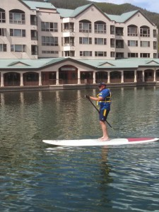 an intermediate stand up paddle board