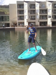 a beginner stand up paddle board