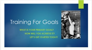 Training For Goals Free Webinar - Promo Video