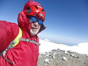 Summit of Columbia Crest on Mount Rainier at 9:28 AM on June 20, 2015