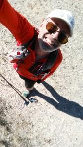 Skyrunning training with Black Diamond carbon fiber Z-poles